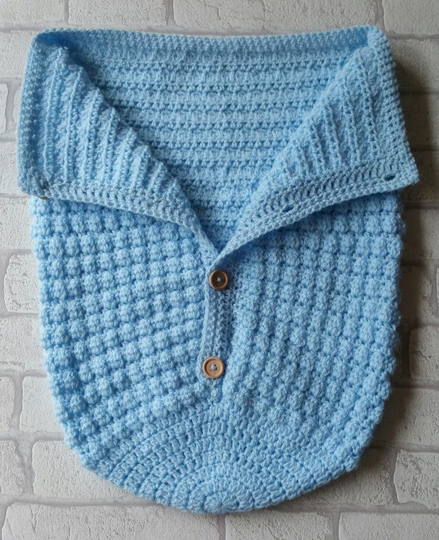 baby boy crochet sleeping bag pattern baby boy cocoon pattern