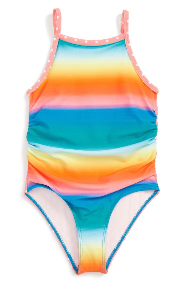 Main Image - Tucker + Tate One-Piece Swimsuit (Toddler Girls, Little Girls & Big Girls)