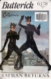 Butterick 6378 - Catwoman Costume - Girls Size B - #halloween #halloweencostumes #costumes -   Feeling like a Super Heroine? Catwoman pattern for young girl. The pattern makes a very cool catwoman outfit, with a close-fitting jumpsuit with collar, ba