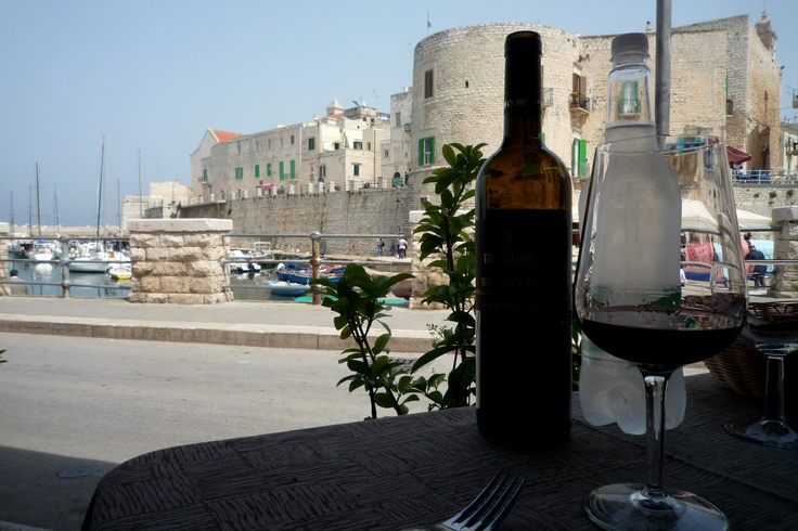 taste the wine and smell the sea