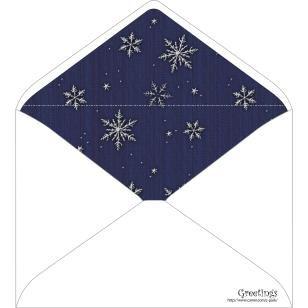 Snow 0003,Envelopes ,Card,Winter,blue,Snow,multi-purpose