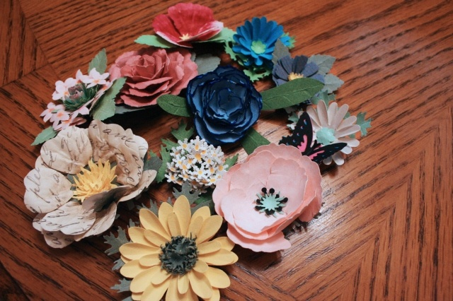 Paper Flower Making! I love these!