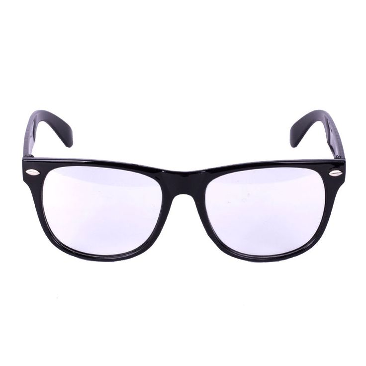 Go to the cosplay partywith the BlackNerd Glasses. The black plastic Nerd Glasses are for decorative use only, and definitely make you top student of the classes!