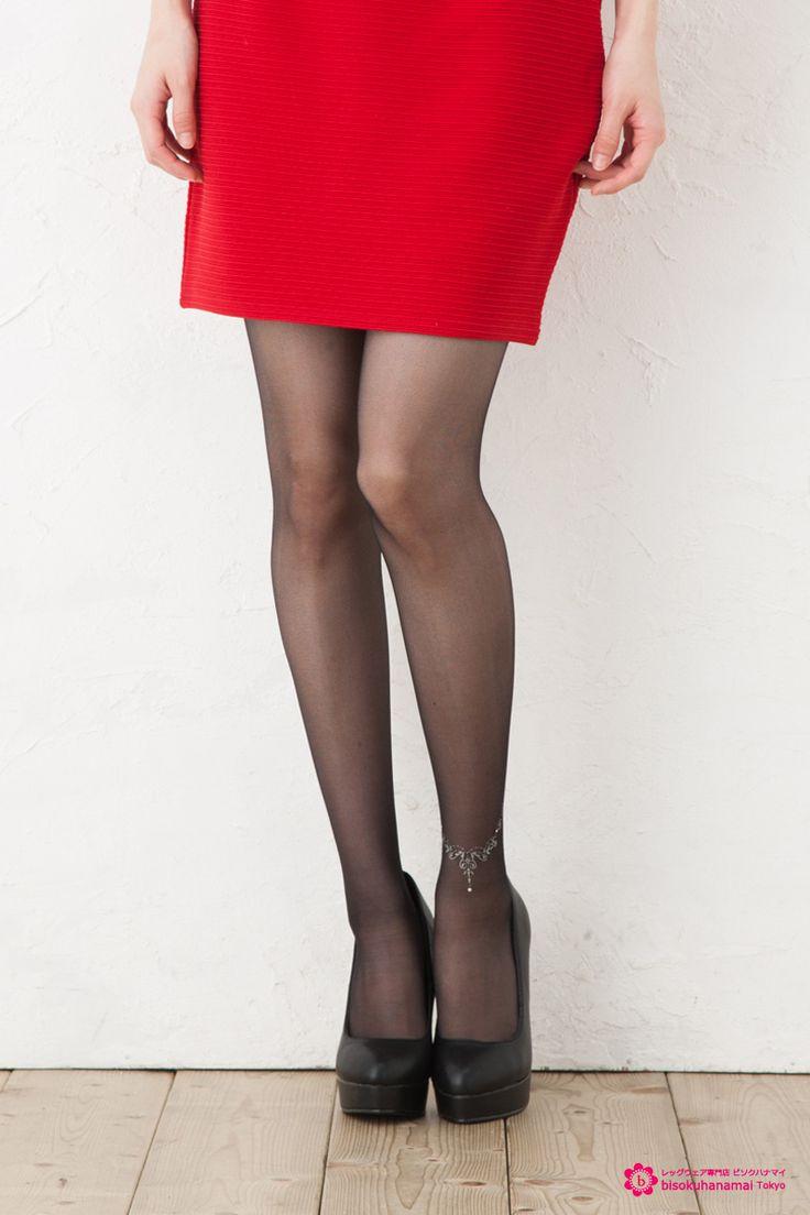 Fukuske Motesto Tiara anklet stockings JPY1300(without TAX)