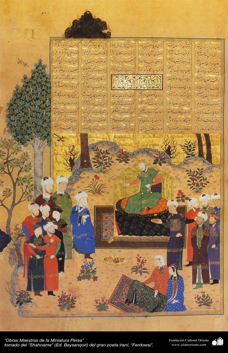 Obras Maestras de la Miniatura Persa - Shahname de Ferdowsi (Ed. Baysanqiri) - 18 | Galería de Arte Islámico y Fotografía