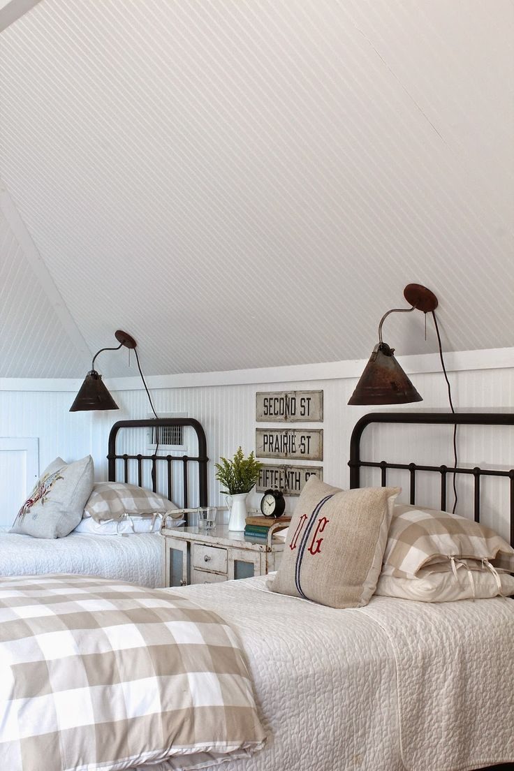 Modern country style gorgeous modern country style bedroom for Farmhouse guest bedroom
