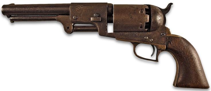 Tiburcio Vasquez's Colt Dragoon