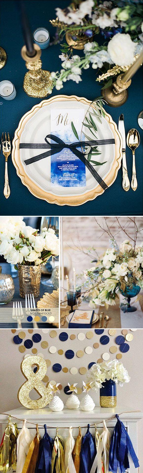 Bodas en Azul: Hoy os proponemos el color azul para vuestra boda, una opción muy atractiva y un color que nunca pasa de moda!