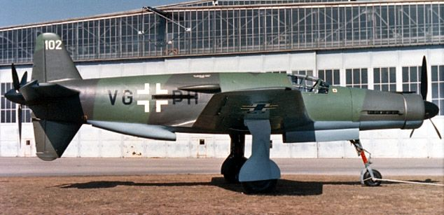 Dornier Do 335. The last surviving example, Do 335A-0 VG+PH, seen after restoration by Dornier.