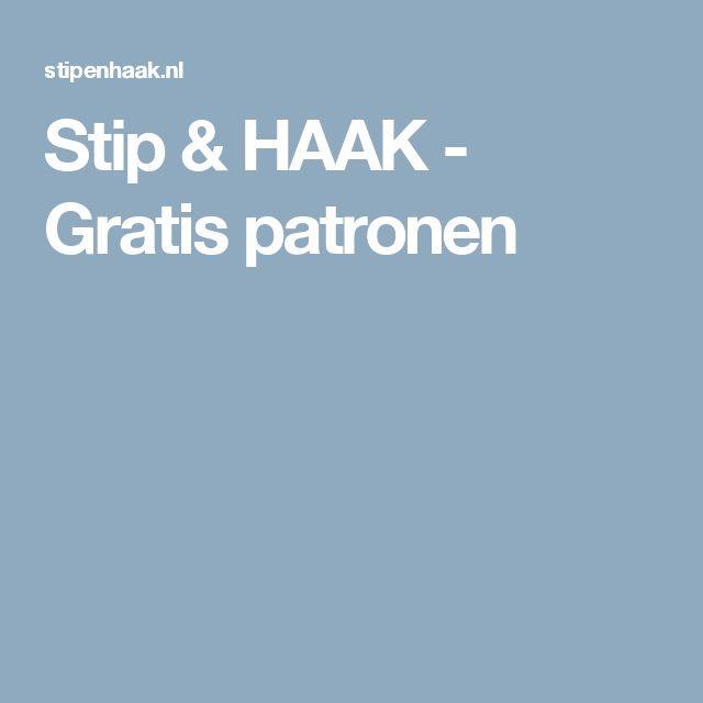 Stip & HAAK - Gratis patronen