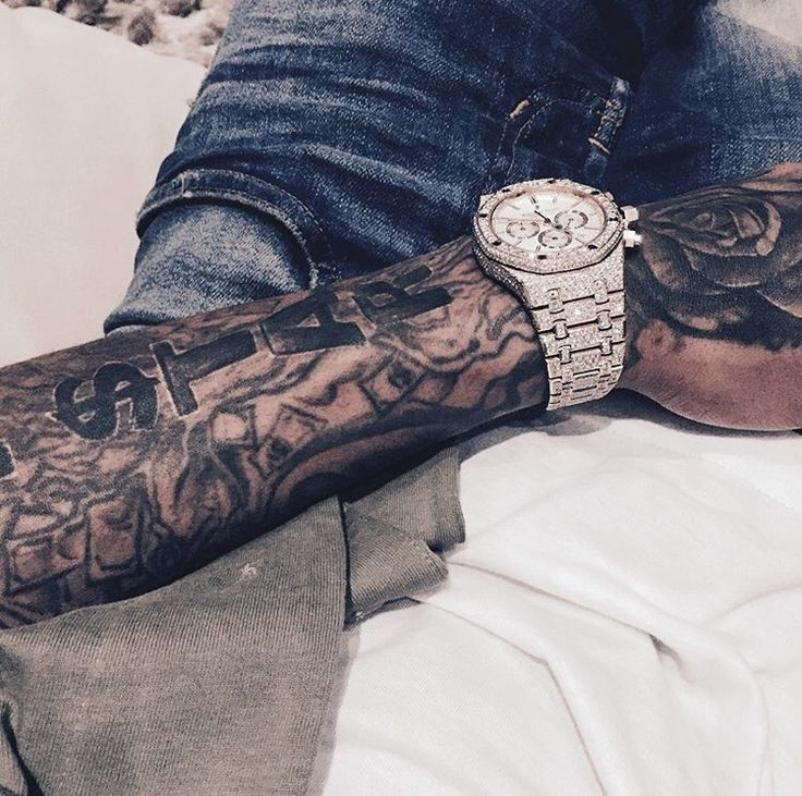 21 best dope shit 187 images on pinterest brandon for Tyga arm tattoos