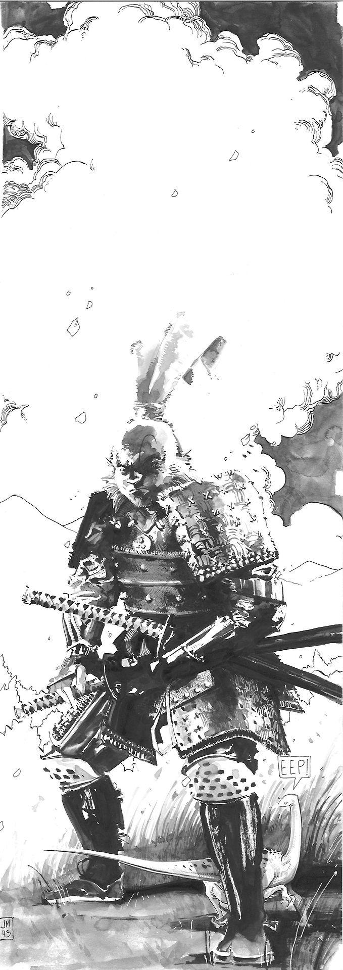 Usagi Yojimbo by jonomarks on deviantART