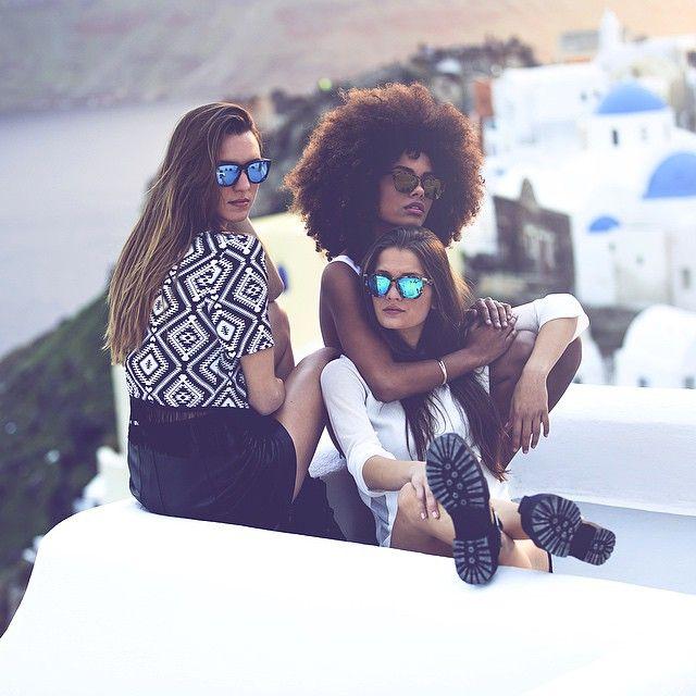 Santorini, Greece • S/S 2015 #hawkersco #losangeles #hollywood #sunglasses