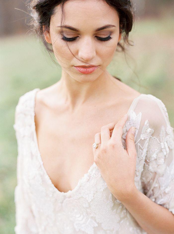 Dramatic Natural Bridal Makeup