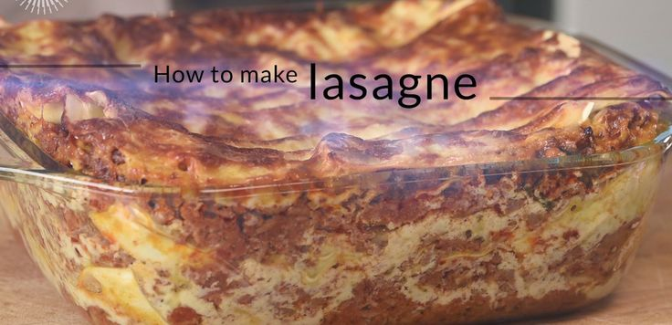 Have your beef ragu and bechamel sauce prepared in advance, along with your lasagne sheets and some grated cheese, and this dish can be put together in under an hour.
