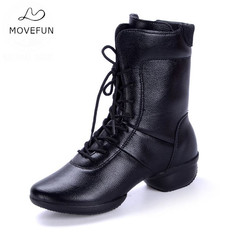 MoveFun Brand Newest Dance Shoes for Women Modern Jazz Dance Boots Fitness Big Size Women's Square Dancing Sneakers Ladies-48