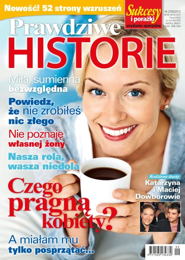 Prawdziwe Historie Polish Magazine - Buy, Subscribe, Download and Read Prawdziwe Historie on your iPad, iPhone, iPod Touch, Android and on the web only through Magzter