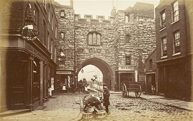 Dickens's Victorian London by Alex Werner & Tony Williams (Ebury)  St John's Gate, c.1875
