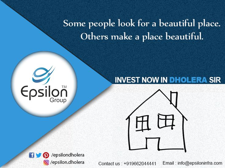 It is well placed to deliver excellent capital #returns for NRI's and Indian Residents Buy residential Land/Plot in #Dholera #SIR
