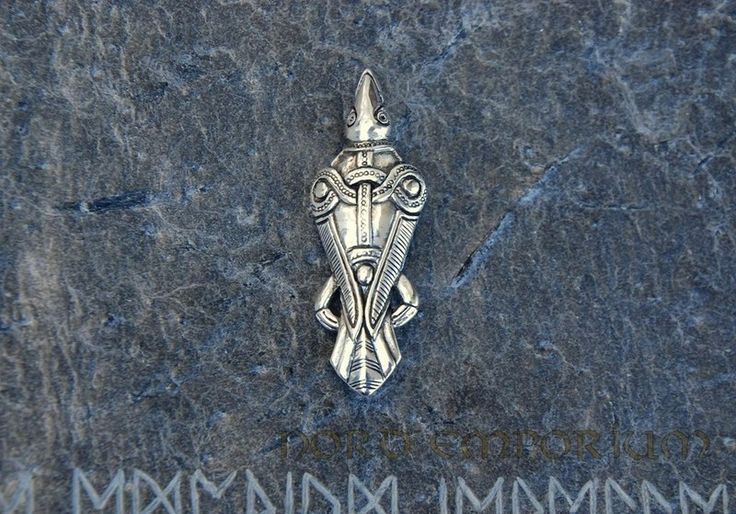 BROSZA KRUK (srebro 925) w NORD EMPORIUM na DaWanda.com