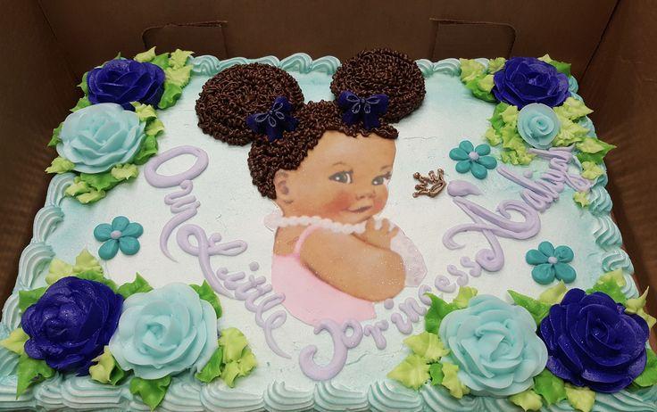 Calumet Bakery Afro Baby Sheet Cake