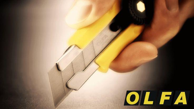 Изобретение канцелярского ножа. История OLFA