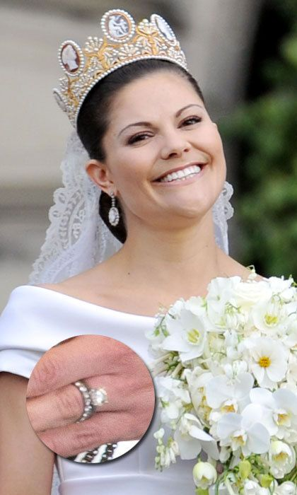 Princess Brides: The most spectacular royal engagement and wedding rings - HELLO! CA