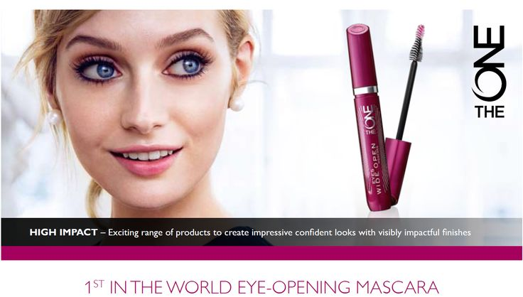 The ONE Eyes Wide Open mascara, with a revolutionary, eye-opening effect – for the biggest, most beautiful eyes ever. Big eyes - the ultimate symbol of femininity There is nothing more alluringly feminine than beautiful eyes. Eyes are often the Number ONE feature that attracts a partner. In fact, the bigger the eyes, the greater the power of attraction a woman is said to have.