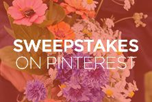 This April, we're all about flowers. Repin for a chance to win $200!