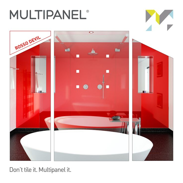 Panel of the Week! This week our featured #paneloftheweek is Rosso Devil. Looking to make a bold statement? Step this way.  www.multipanel.co.uk