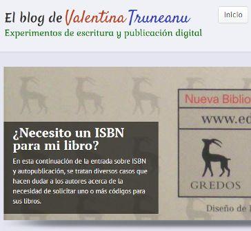 Recuento del año 2013 en El blog de Valentina Truneanu