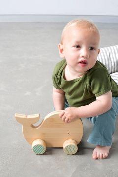 Holzspielzeug Wal