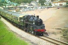 Dartmouth steam train, Devon, England.