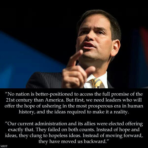 Marco Rubio Quotes Awesome 47 Best Marco Rubio Images On Pinterest  Blondes Marco Rubio