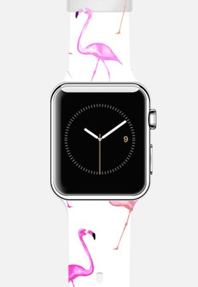Flamingo Bingo by Monika Strigel Apple Watch Band | @Casetify