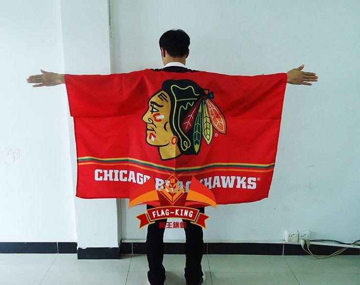 >> Click to Buy << Chicago Blackhawks body  Flag ,Chicago Blackhawks Fan clothes,130*90CM body banner #Affiliate