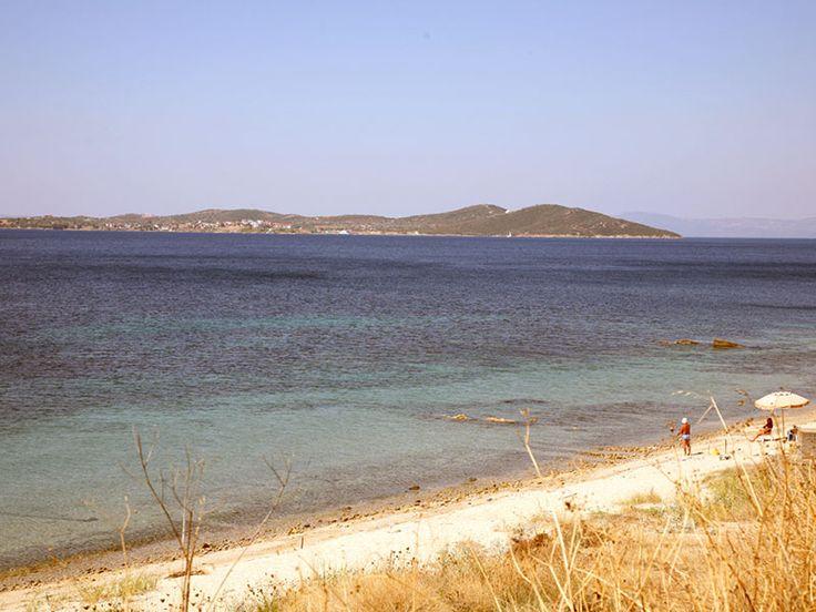 Beach at Ouranoupoli #Halkidiki #Greece #Travel #gohalkidiki