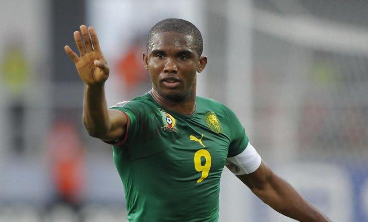 Cameroun : les plus beaux buts d'Eto'o avec les Lions indomptables - 29/08/2014 - http://www.camerpost.com/cameroun-les-plus-beaux-buts-detoo-avec-les-lions-indomptables-29082014/