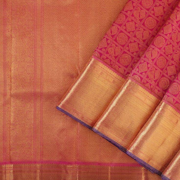 Kanakavalli Kanjivaram Silk Sari 020-01-24375 - Cover View