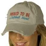 Image detail for -SOFTBALL MOM hat