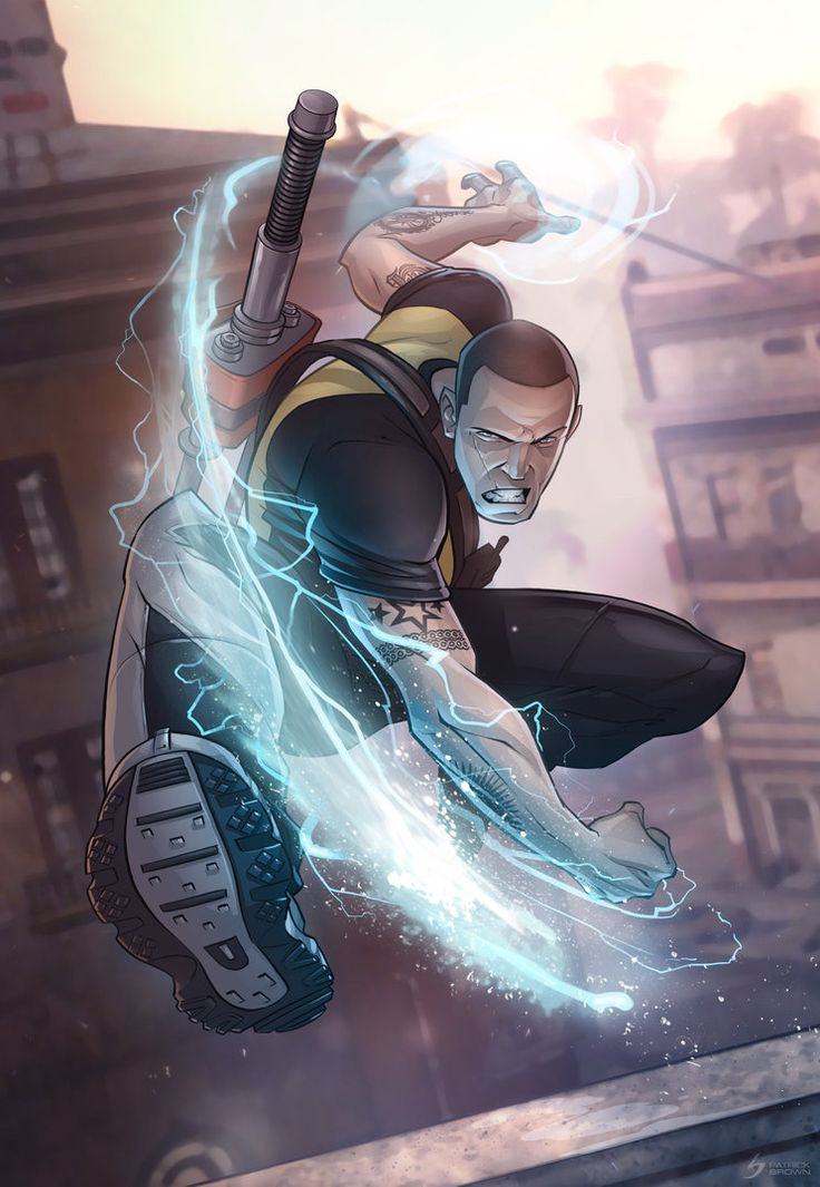 Infamous 2 by *patrickbrown on deviantART