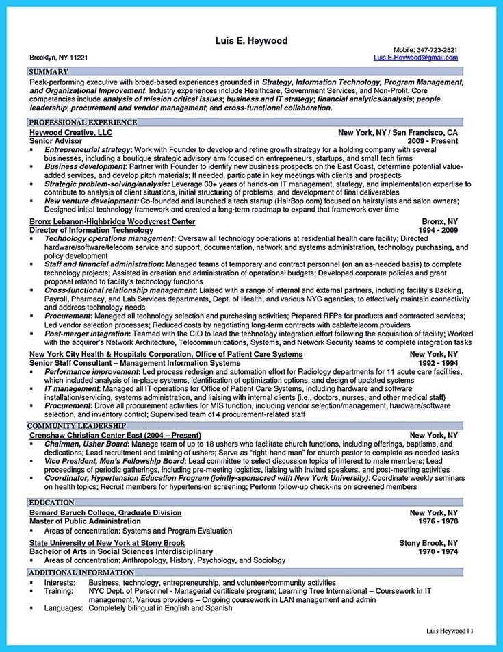 nice Powerful Cyber Security Resume to Get Hired Right