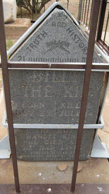 Billy The Kid's Original Gravemarker