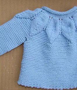 tutorial de Jersey de bebé