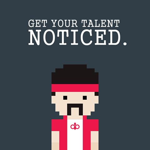 Get your talent noticed. Contact us at Digit Bazar. #Talent #DigitalMarketing #Designer #Contact #DigitBazarAppSolutions