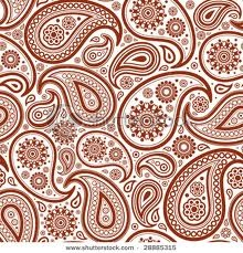 Love me some red paisleys!