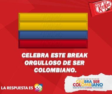 KitKat #CelebraSerCOlombiano