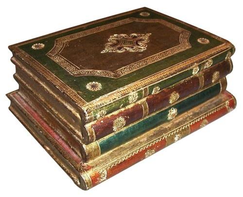 Florentine Gilt Book Box