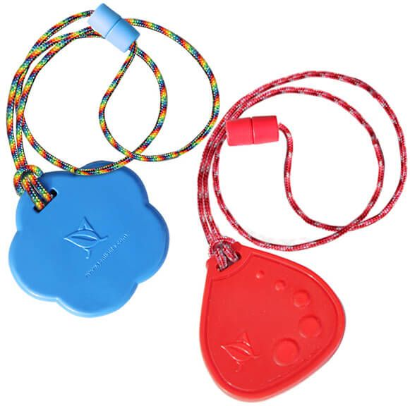SAVE buying DUO Soccer Ball and Ice Cream Red chewable necklaces with your choice of breakaway lanyard style! SAVE