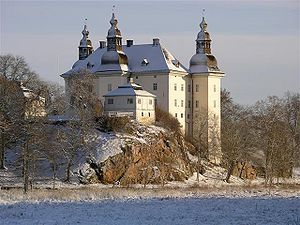 Ekenäs Castle - Sweden, built in the 17th century on top of the foundation of a medieval fortress from the 14th century